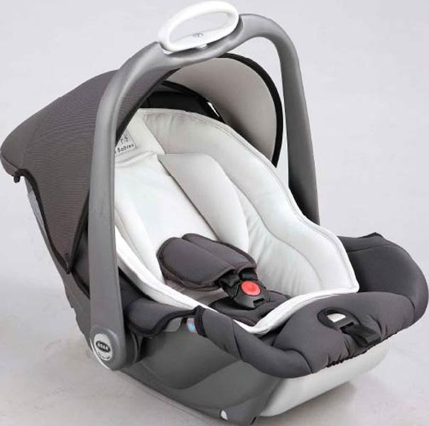 Автокресло Roan Babies Millo 0+ Grey