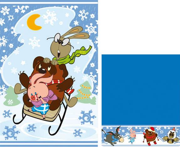 Набор махровых полотенец  Новый год