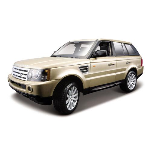 Автомодель - Range Rover Sport (золотое шампанское, 1:18)