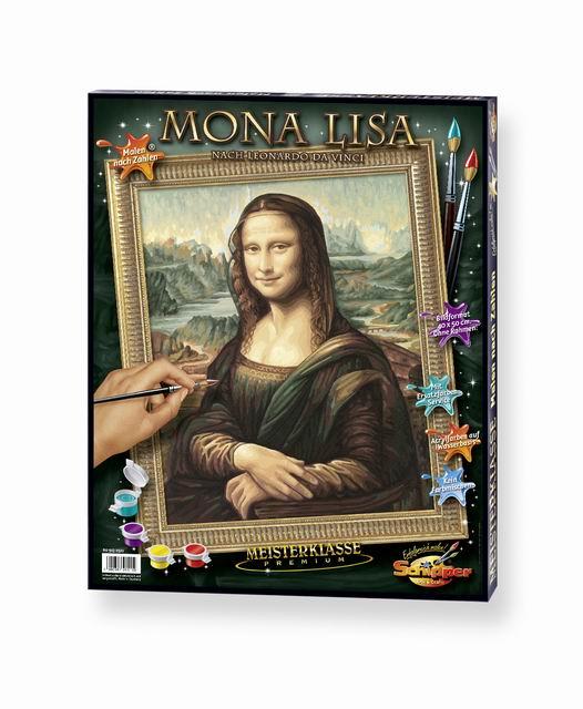 Художественный творческий набор Мона Лиза