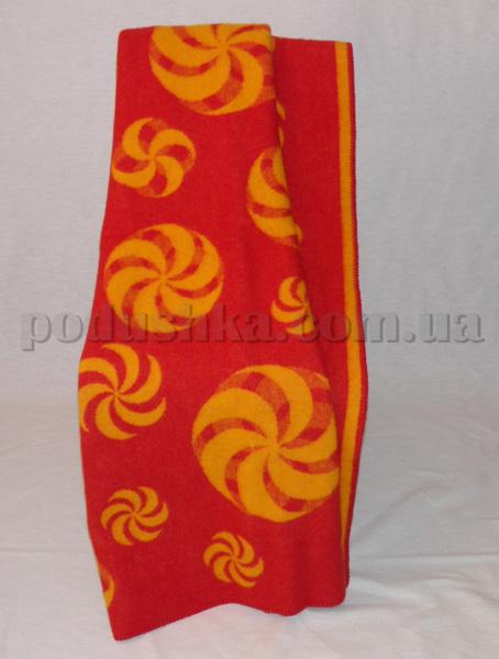 Одеяло детское Мельница красное Klippan Saule