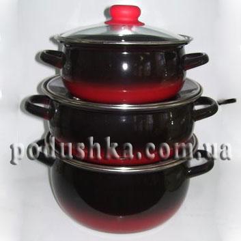 Набор посуды 3 предмета Кармен