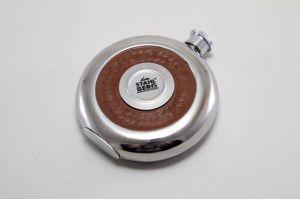 Фляжка круглая (нерж. сталь) 8298-S