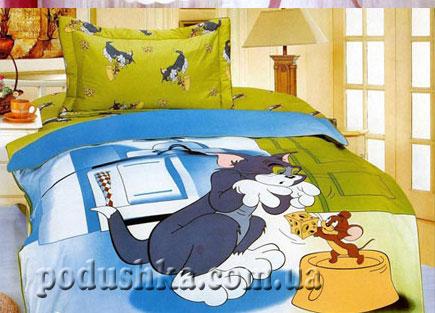 Постельное белье Кот и мышка