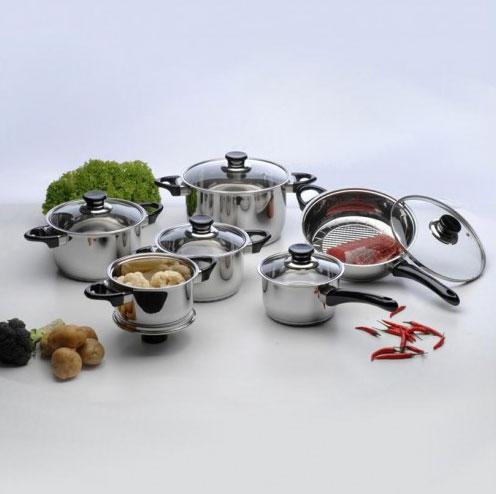 Набор посуды 12 предметов VISION BergHOFF
