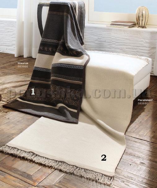 Плед Parallelen 583680 Exquisite cotton Bocasa