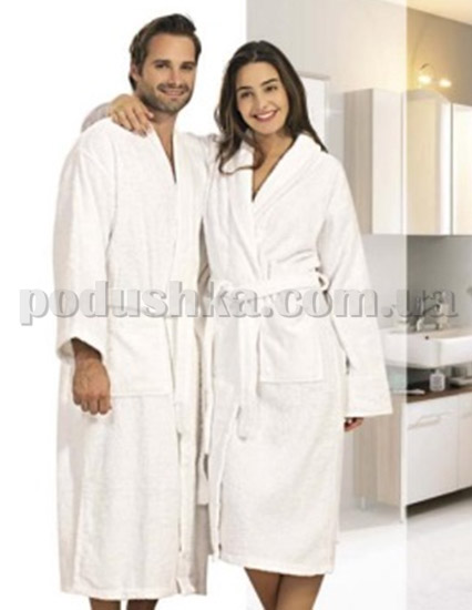 Халат махровый белый Maisonette Hotel Kimono