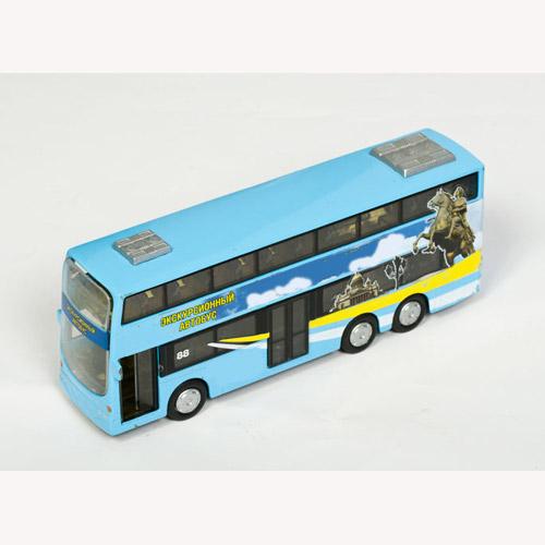 Автомодель - Автобус двухэтажный (свет, звук)