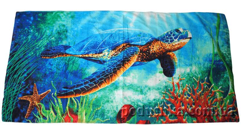 Полотенце пляжное Черепаха