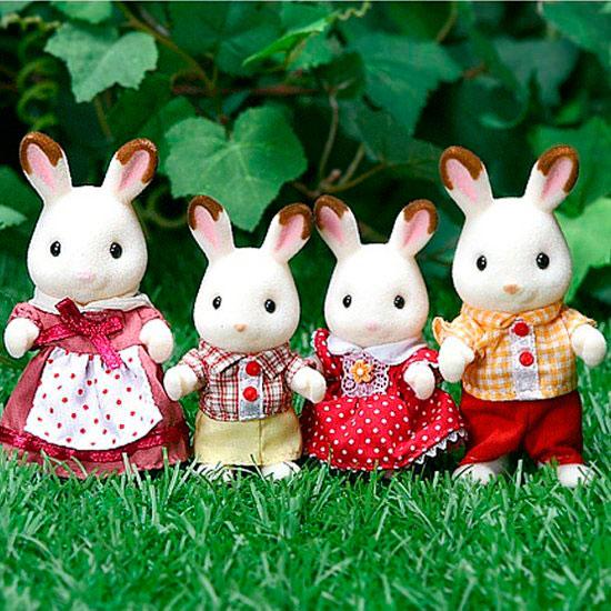Семья Шоколадных Кроликов Sylvanian Families 2500039168019