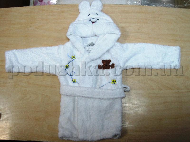 Халат детский Nusa 0-6 месяцев кремовый
