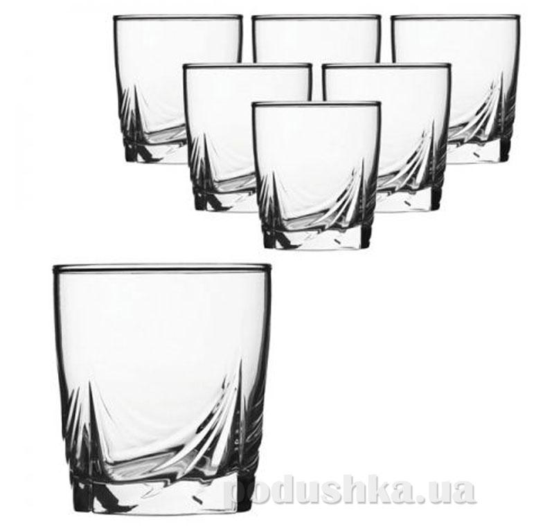 Набор стаканов Luminarc Аскот 6х300 мл H9812/1 низкие   Luminarc