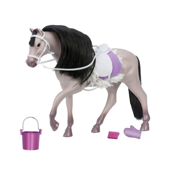 Игровая фигура Lori Серая Андалузкая лошадь LO38001Z