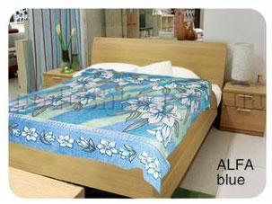 Простынь махровая Le Vele Alfa Blue 180х230 см  Le Vele