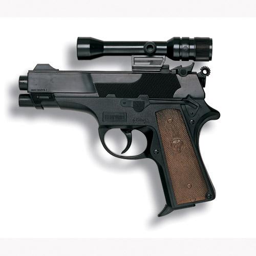 Пистолет серии Полиция - LEOPARDMATIC (13-зарядный, с оптическим прицелом)