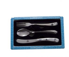 Набор столовых приборов 3 пр : ложка столовая, вилка, нож (нерж.сталь) 6317-S
