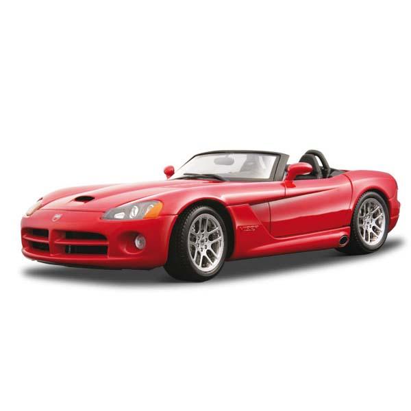 Авто-конструктор - Dodge Viper SRT-10 (2003) (красный, 1:18)