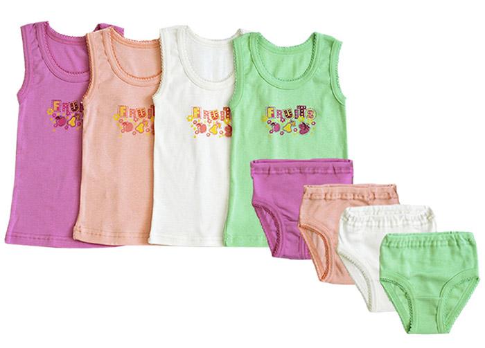 Комплект белья для девочек Фламинго 285 ластик