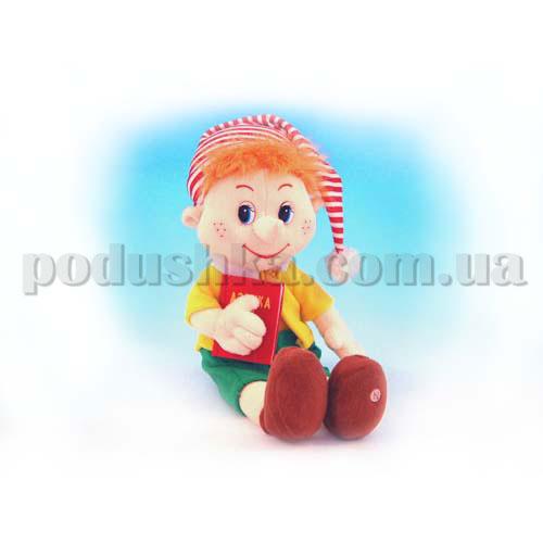 Мягкая игрушка - Пиноккио Малый музыкальный, 32 см