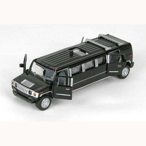 Автомодель - ЛИМУЗИН (черный, свет, звук)   Технопарк