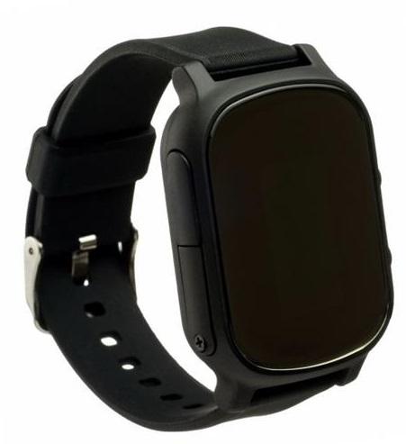 Детские телефон-часы с GPS трекером GoGPS me К20 Черные K20BK