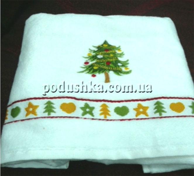 Полотенце махровое Крисмас 40х70 см, Maisonette