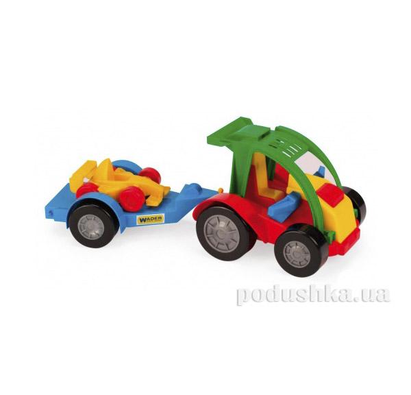 Багги с прицепом гоночная машина Wader 39227-3   Wader
