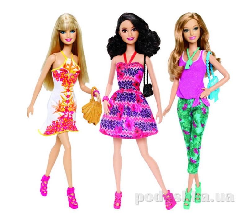 Барби Модница серии Тропическая вечеринка в ассортимнете Barbie