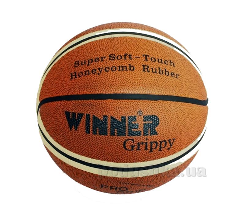 Баскетбольный мяч Winner Grippy-7 двухцветный