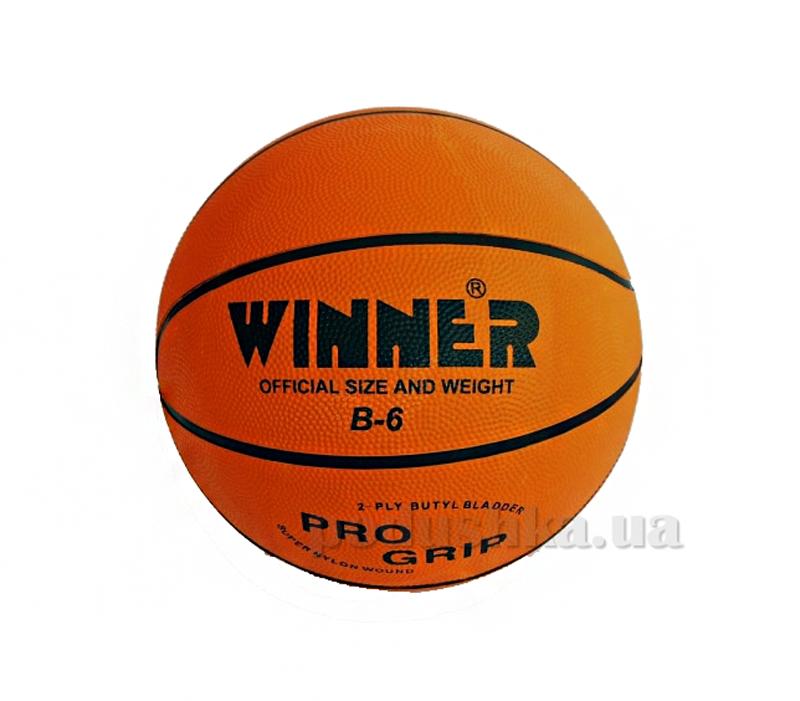 Баскетбольный мяч Winner Orange B-6