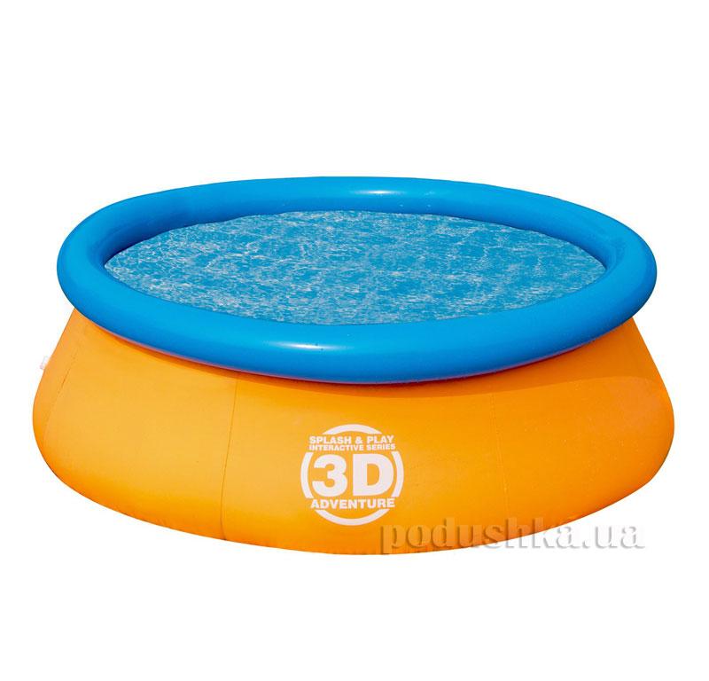 Бассейн с 3D рисунком Bestway 57244