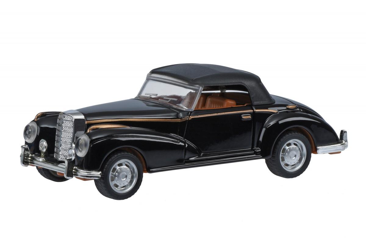 Автомобиль Same Toy Vintage Car со светом и звуком черный закрытый кабриолет 601-3Ut-5