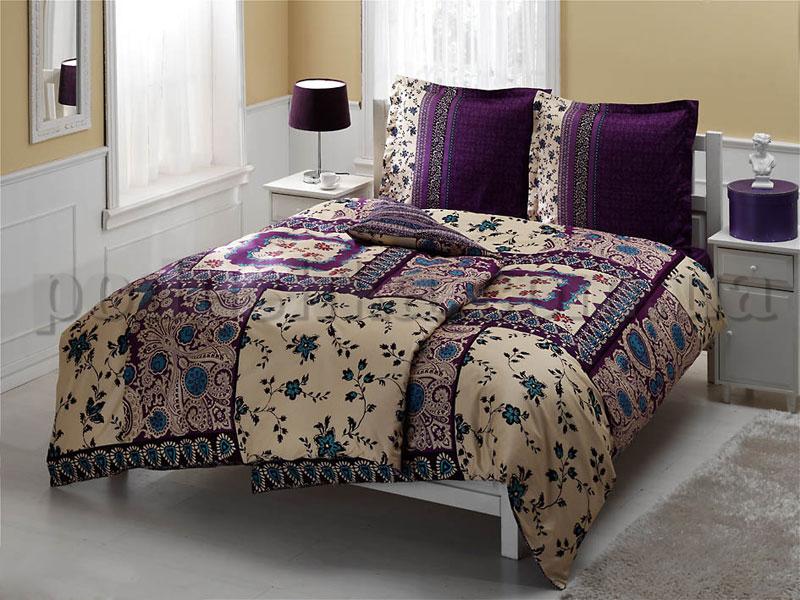 Постельное белье TAC Casablanca фиолетовый