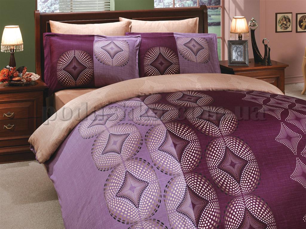 Постельное белье Hobby Gris фиолетовый
