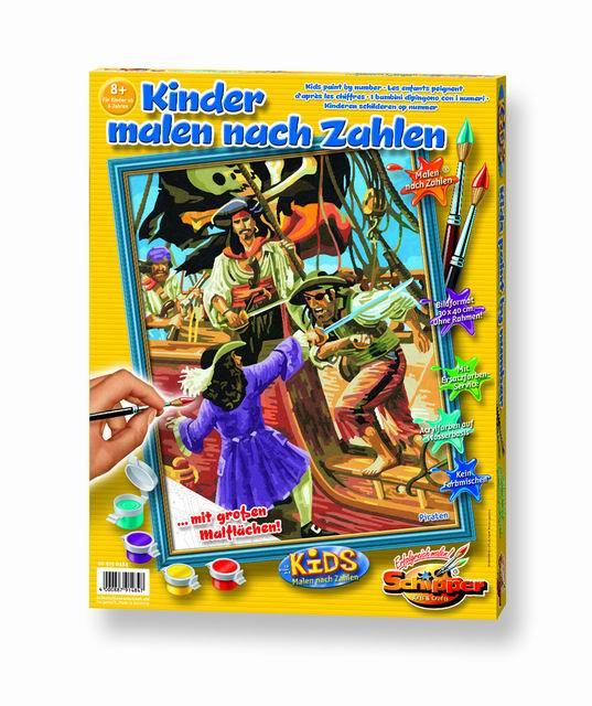Художественный творческий набор Пираты