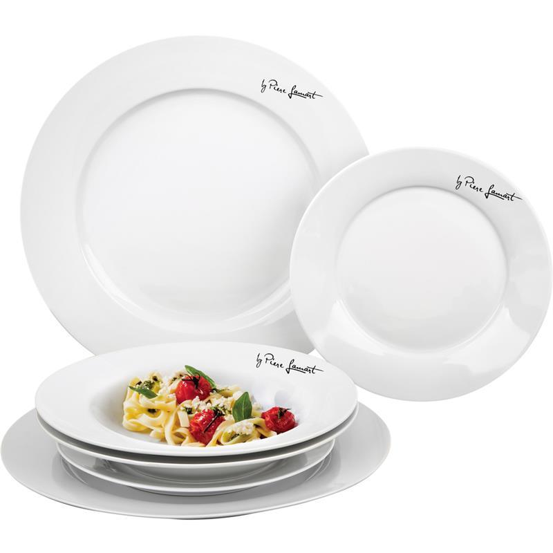Набор тарелок Lamart керамических круглых 6 шт. LT9001 белый