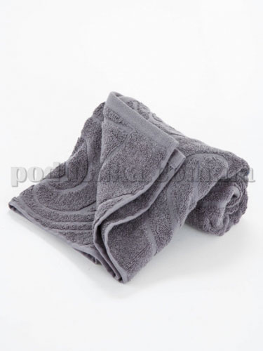Полотенце махровое Belle-Textile Lynette серое