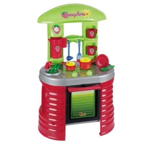 Игровой набор - Кухня - Клубничка (17 аксессуаров, с запахом клубники, 72 см)