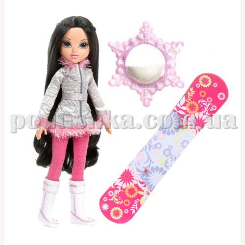 Кукла Moxie серии Зимняя сказка - Софина со снегом и сноубордом