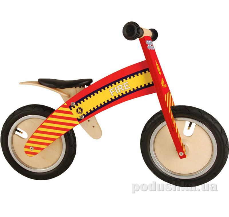 Беговел Kiddi Moto Kurve деревянный SKD-19-95