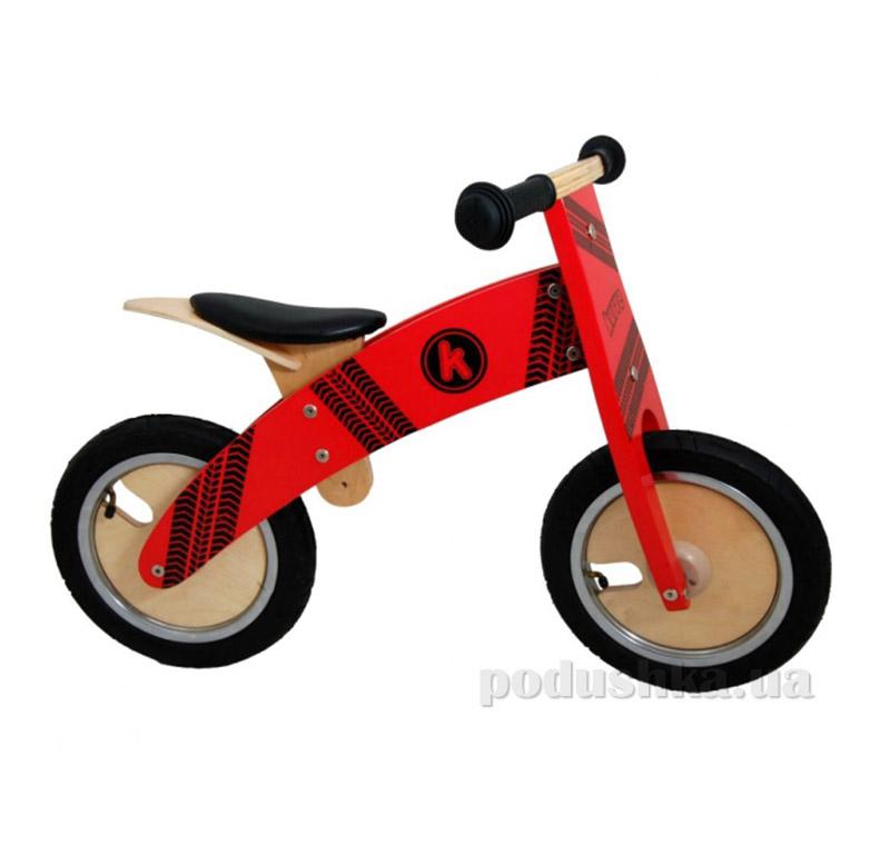 Беговел Kiddi Moto Kurve деревянный SKD-81-64
