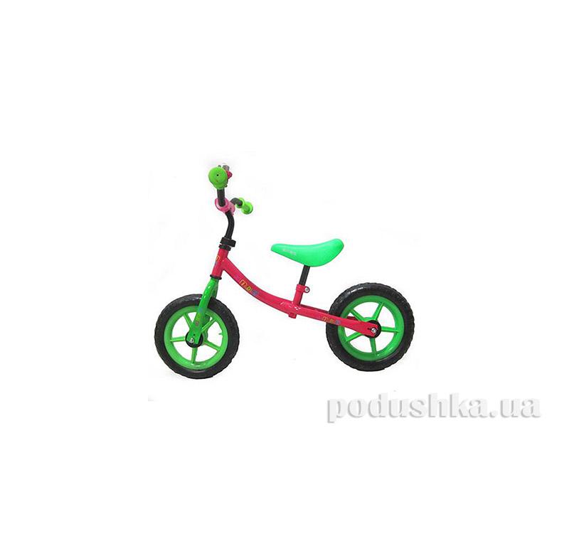 Беговел Profi Kids M 3128-4 Розовый/Зеленый
