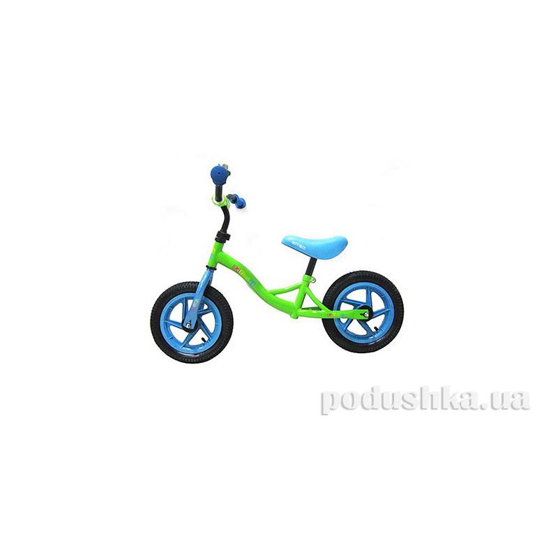 Беговел Profi Kids M 3129-3A Зеленый/Голубой
