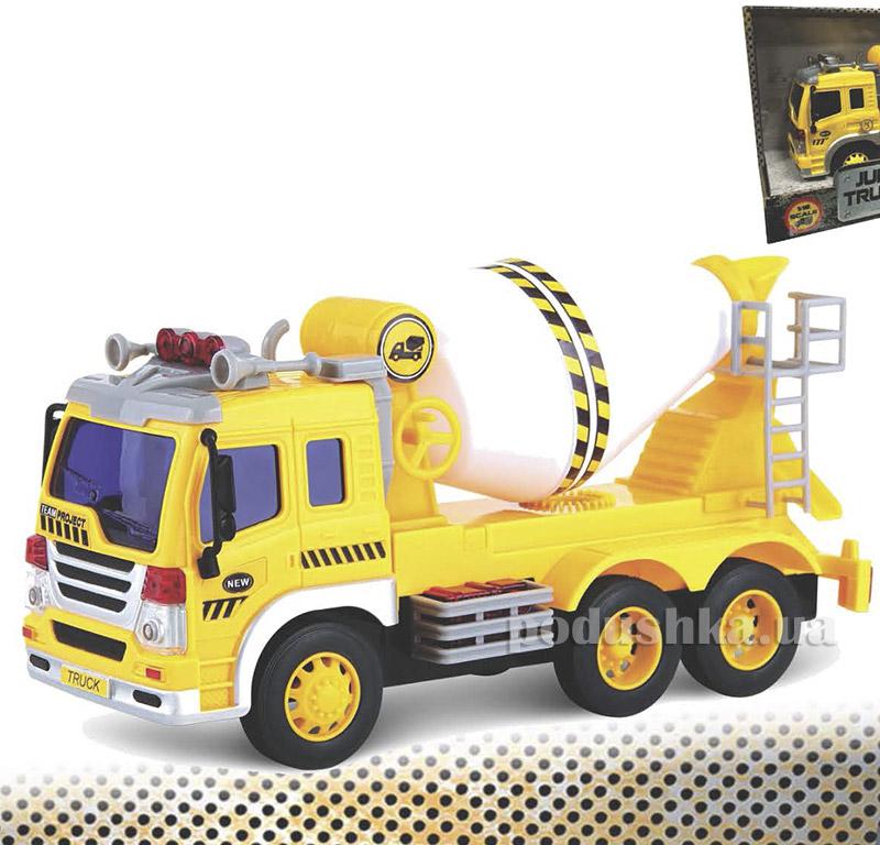 Бетономешалка Junior Trucker 28 см со светом и звуком Dave Toy 33023   Dave Toy