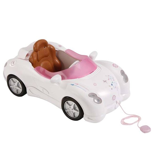 Интерактивная машинка для куклы Baby Born - Кабриолет (свет, звук)