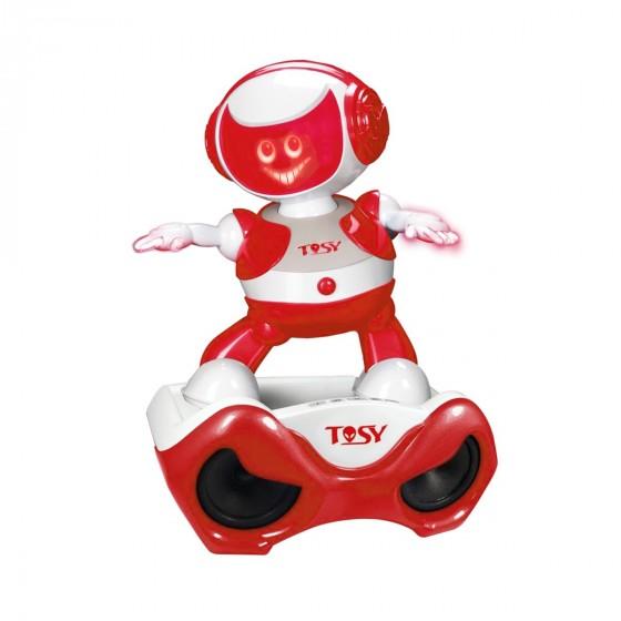 Набор Tosy DiscoRobo с интерактивным роботом Алекс Диджей MP3-плеер с колонками TDV110-U 8930006492856