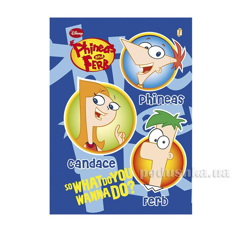Блокнот А6 Финеас и Фёрб 1 Вересня 1-150711