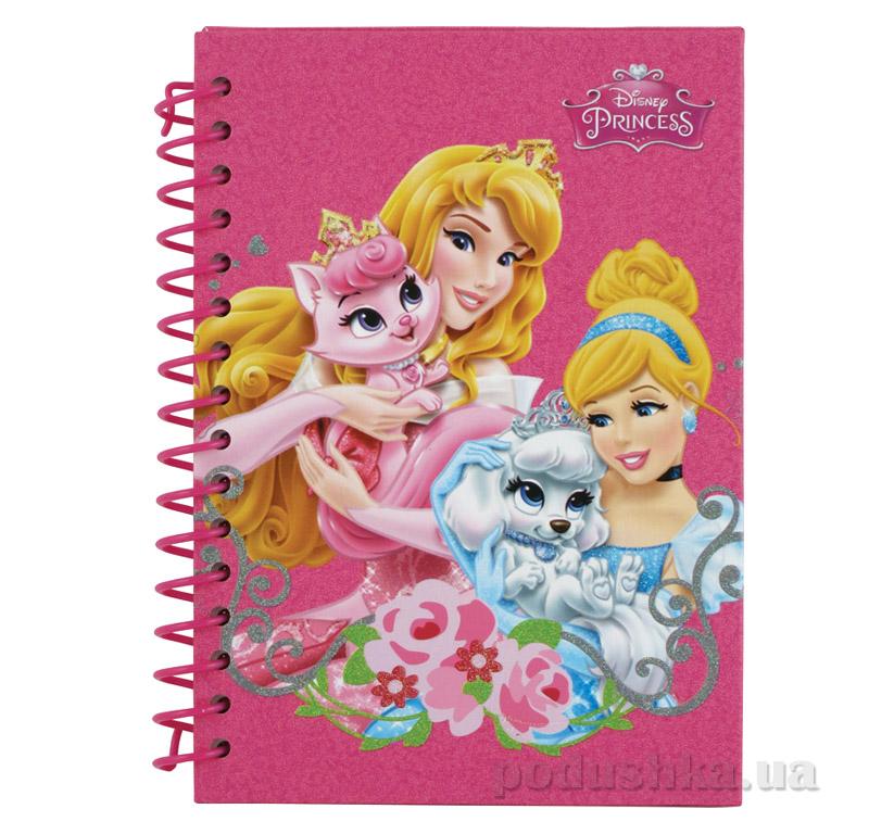 Блокнот для девочки Принцессы Kite P15-222K
