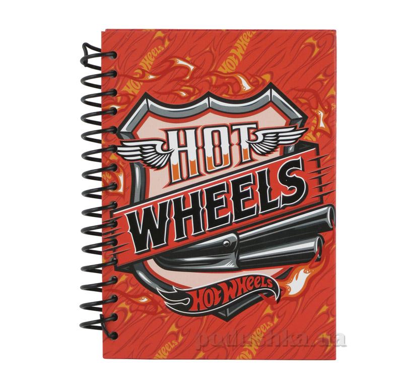 Блокнот для мальчика Горячие колеса Kite HW15-222K