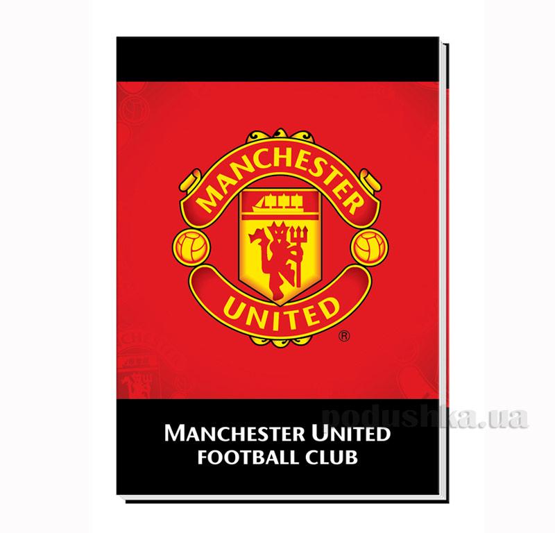 Блокнот с твердой обложкой Kite Manchester United MU14-228K
